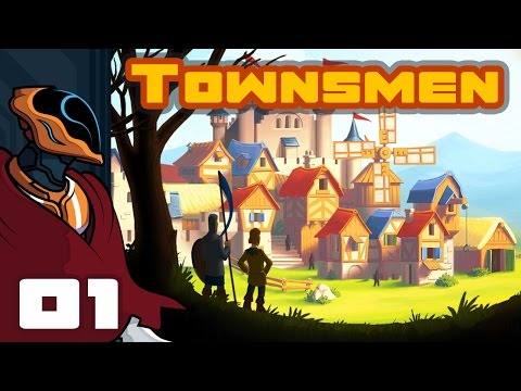 Lets Play Townsmen - PC Gameplay Part 1 - I Need More Prestige!