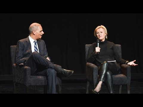 Tina Brown in conversation with U.S. Attorney General Eric Holder