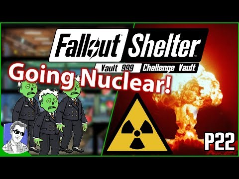 Fallout Shelter Vault 999 Going Nuclear