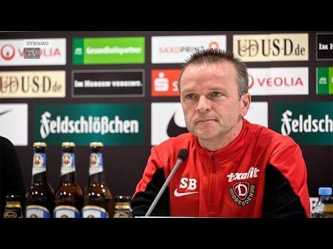 19. Spieltag   FCH - SGD   Pressekonferenz vor dem Spiel