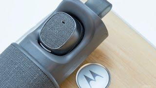 видео Беспроводные наушники Motorola Verve Ones