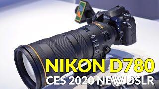 Nikon D780 New DSLR at CES 2020