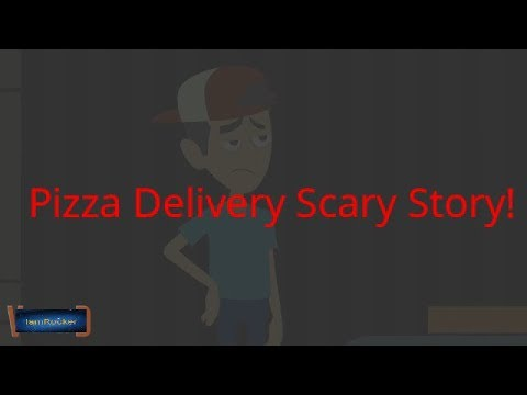 Another Pizza Delivery Scary Story(Animated in Hindi)|IamRocker|