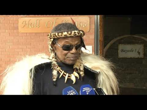 Prince Mangosuthu Buthelezi honoured