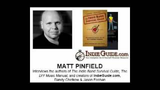 Matt Pinfield Interviews Beatnik Turtle Authors (The Indie Band Survival Guide)