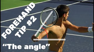 """Tennis Forehand Tip #2 - After """"The Angle"""""""