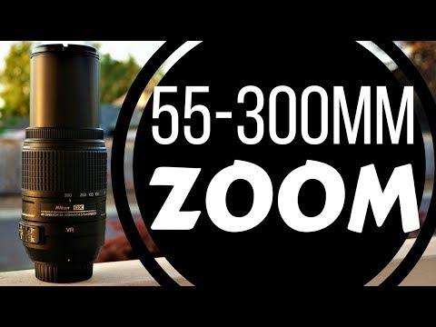 AF-S DX NIKKOR 55-300mm f/4.5-5.6G ED VR Lens Review | Nikon D7500 + Zoom Lens + Hands On Overview