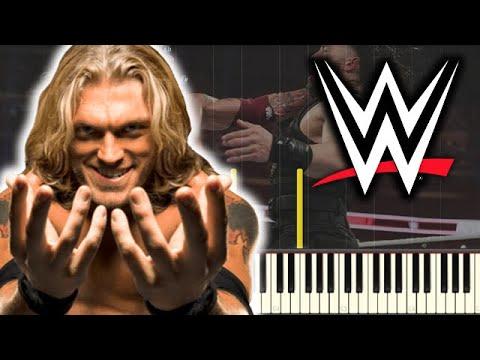 🎵 Metalingus - EDGE WWE Theme Song 2020 [Piano Tutorial]