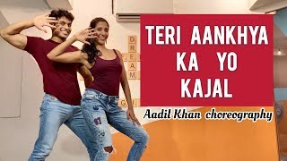 Video Teri Aankhya Ka Yo Kajal   Share With Your Desi Friend   Aadil Khan Choreography download MP3, 3GP, MP4, WEBM, AVI, FLV Agustus 2018
