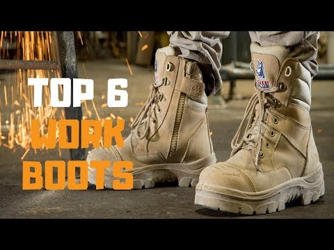 Best Work Boots in 2019 - Top 6 Work Boots Review