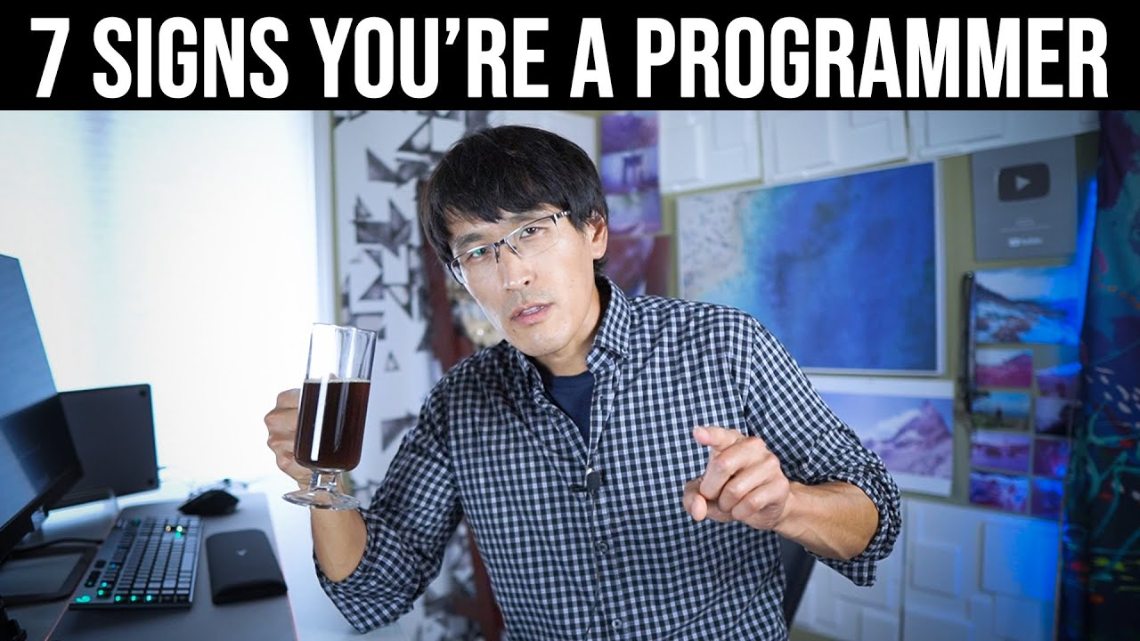 Download Top 7 signs you're a Programmer.