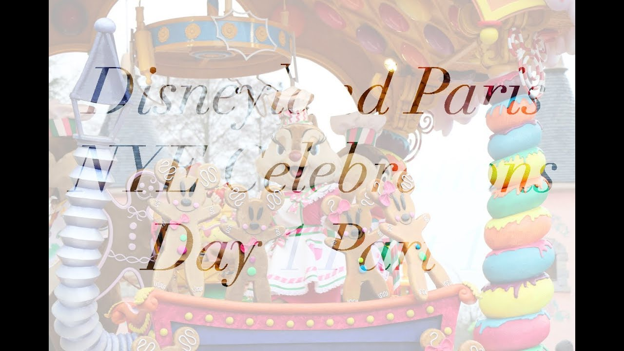 New Year\'s Eve at Disneyland Paris - Day 1 Part 1 - Christmas ...