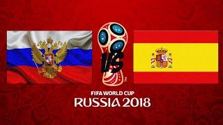 ЧМ 2018  РОССИЯ         -         ИСПАНИЯ          ОБЗОР МАТЧА HD