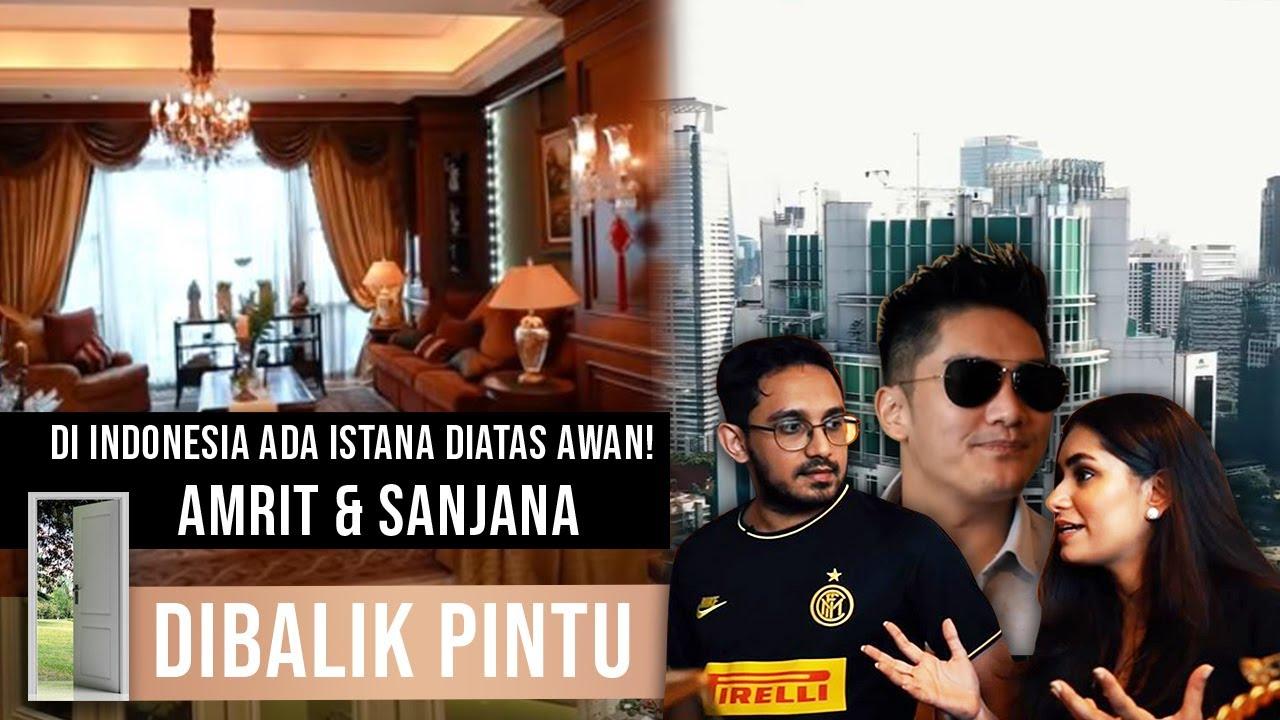 DI INDONESIA ADA ISTANA DIATAS AWAN! Amrit & Sanjana #DibalikPintu