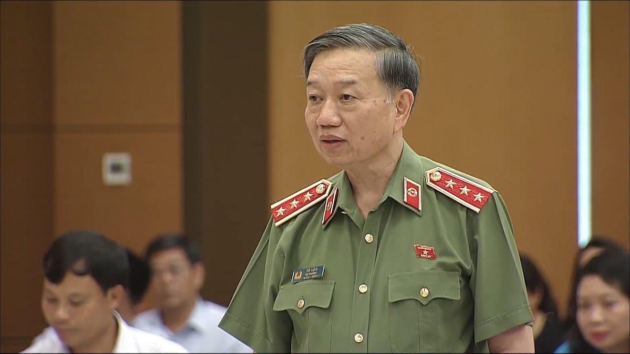 Bộ trưởng Bộ Công an Tô Lâm trả lời chất vấn trước Thường vụ Quốc hội về tình hình tội phạm hiện nay