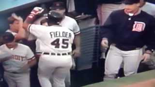 Nolan Ryan Serves Up Cecil Fielder Home Run