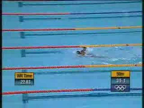 most memorable swimming event in sydney olympics