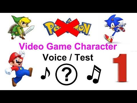Video Game Voice (Bonus Test) 1