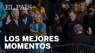 PRESIDENTE BIDEN: Los MEJORES MOMENTOS de su TOMA DE POSESIÓN
