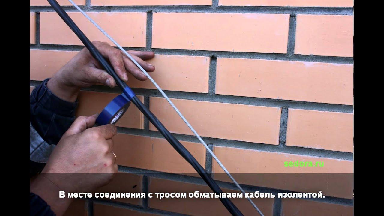 схема подключения электрики на дачном участке