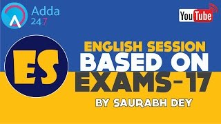 ENGLISH GRAMMAR FOR COMPETITIVE EXAM NOUNS BY SAURABH DEY