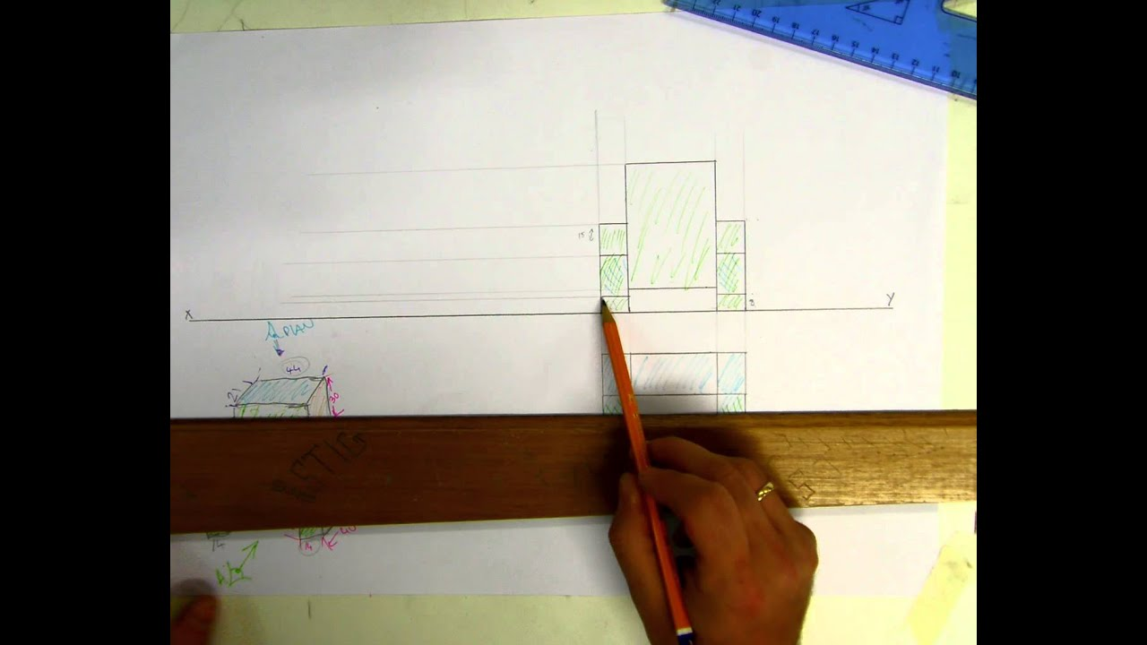 Orthographic Projection / plan / elevation / End View ...