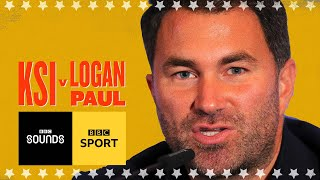 KSI v Logan Paul bigger than Joshua - Eddie Hearn | BBC Sport