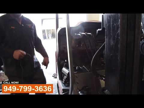 Forklift Cylinder Repair - Видео онлайн