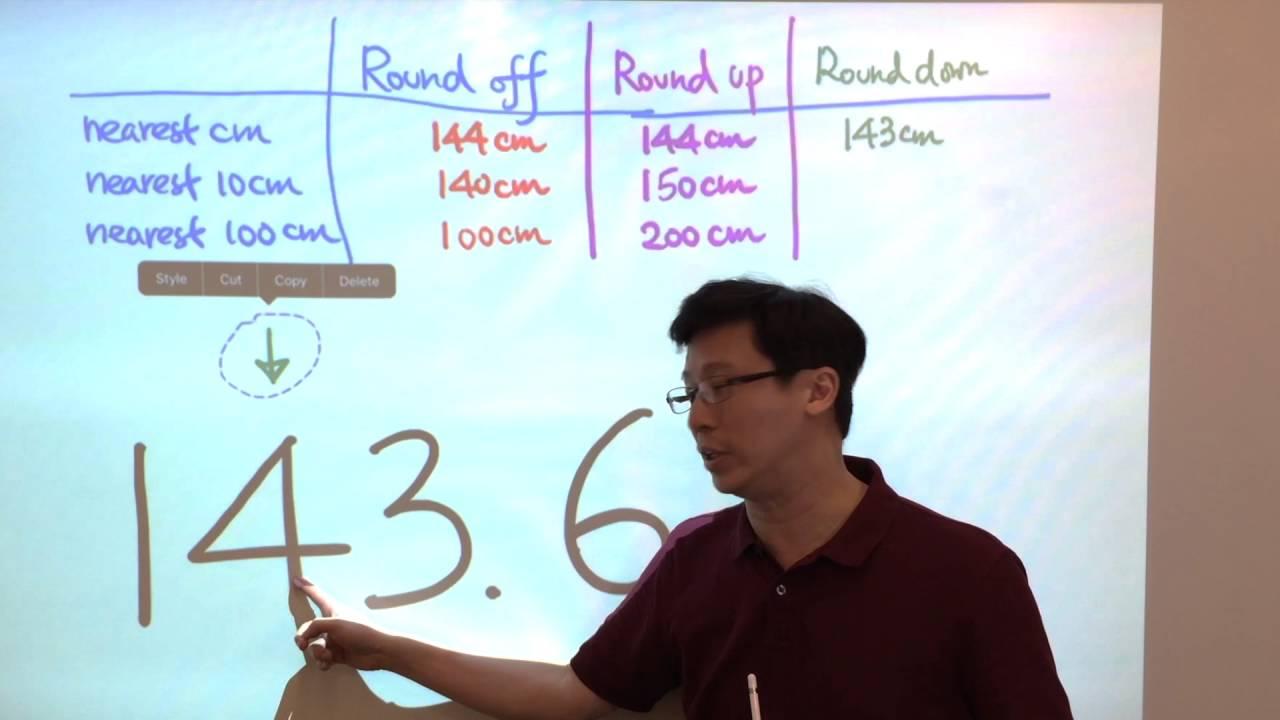5.1e Round Down - YouTube