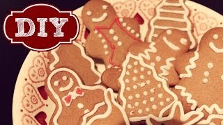DIY Christmas Gingerbread Biscuits | Zoella