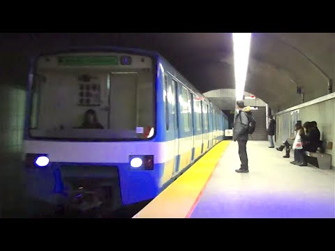 ᴴᴰ Montreal Metro MR-63 Jeumont Set Action