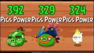 Angry Birds Epic Rpg Chronical Caves Boss 1-2-3 Dark Shaman Captain Red Beard Mini Horror