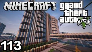 ►GTA V in Minecraft #113 | HUGE HOSPITAL BUILDING