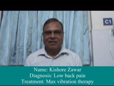 MAX  Vibration Therapy | Patient Testimonial | Dr. Avneesh Gupte