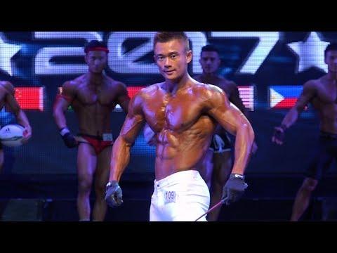 WFF AsiaPac Pro/Am 2017 - Men's Sports Model (Short)