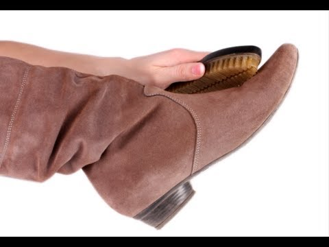 How To Clean Suede Shoes Suede Shoes Protection YouTube