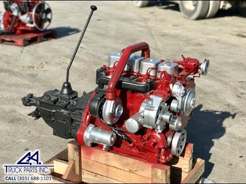 (USED REMAN) Cummins 4BT 3 9L Diesel Engine 105 HP, Rotary VE Pump Serial #  390867 | CA TRUCK PARTS