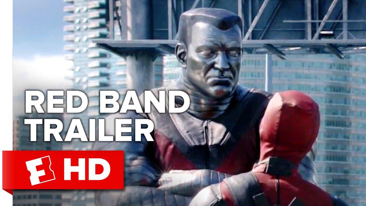 Deadpool Official Trailer 1 2016 Ryan Reynolds Movie Hd Youtube