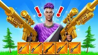 NEW Sniper *ONLY* Game Mode in Fortnite!