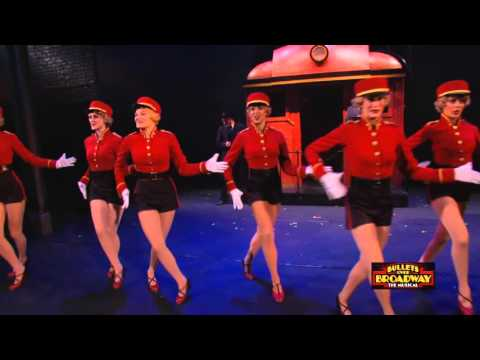 Bullets Over Broadway on Tour  Montage