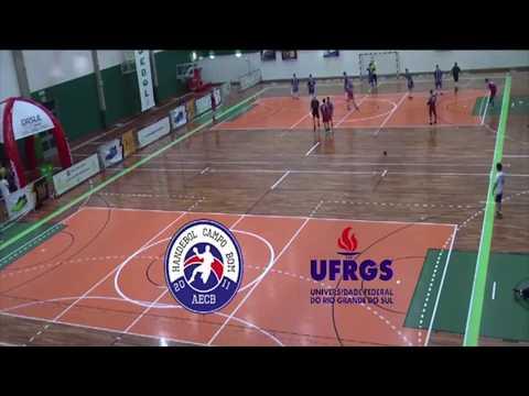 Semifinal Adulto Masculino de handebol AECB x UFRGS