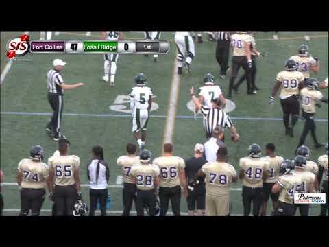 FOOTBALL: Fossil Ridge HS vs Fort Collins HS - 8/31/18