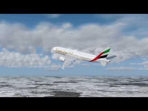 Flight from Munich to Amman (Emirates)