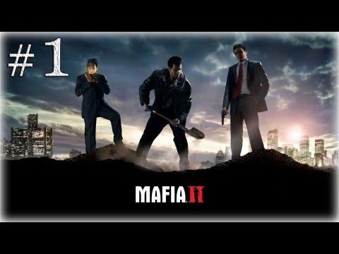 Смотреть прохождение игры Mafia 2. Серия 1 - Возвращение домой.