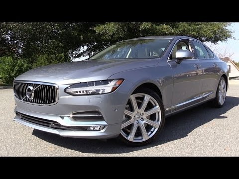 2017 Volvo S90 T6 Inscription - Start Up, Road Test & In Depth Review