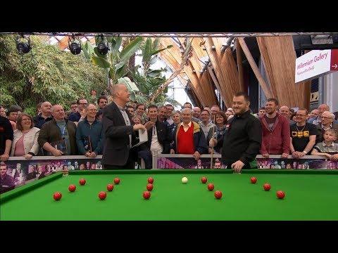 Pot Quiz-Mark Allen 2018 World Championship Snooker