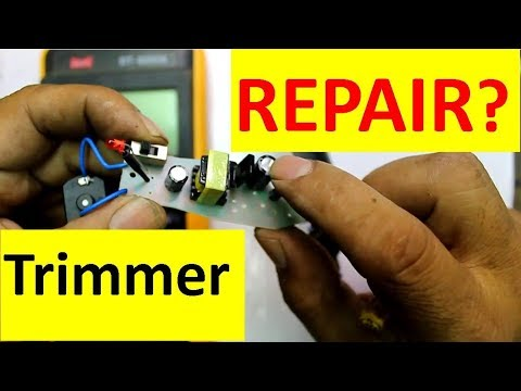 how-to-repair-htc-hair-trimmer-easily