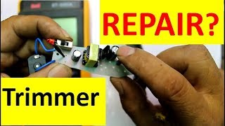 How to Repair HTC Hair Trimmer Easily