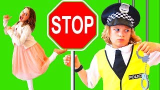 Don't break More Police RULES With Biggy | Pretend Play with The Norris Nuts pt 2