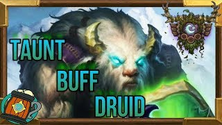 Hearthstone : Deck Tech Scarab Buff Taunt Druid Knights of the Frozen Throne